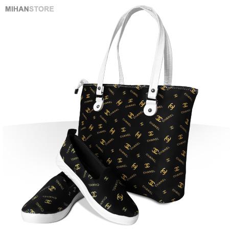 حراج ویژه ست کیف، کفش و روسری Chanel